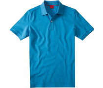 Herren Polo-Shirt Baumwoll-Piqué ozon