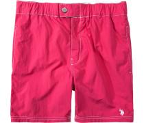 Herren Bademode Bade-Short Nylon pink rot