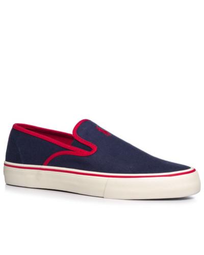 Ralph Lauren Herren Schuhe Slip Ons, Canvas, navy