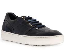 Schuhe Sneaker, Leder, blue