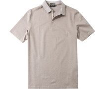 Herren Polo-Shirt Baumwoll-Piqué gemustert