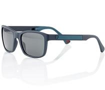 Herren Brillen  Klappsonnenbrille Kunststoff blau