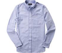 Herren Hemd Oxford hellblau