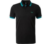 Polo-Shirt Regular Fit Baumwoll-Piqué