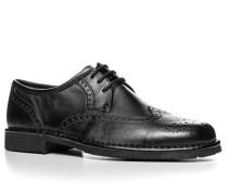 Herren Schuhe Budapester Lammnappa schwarz