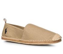 Herren Schuhe Espadrilles Baumwolle sand meliert beige