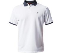 Herren Polo-Shirt Tailored Fit Baumwoll-Piqué