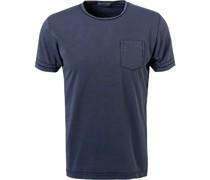 T-Shirt Baumwolle indigo