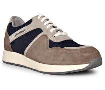 Schuhe Sneaker Veloursleder -navy
