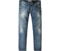 Herren Jeans Red Salvage Regular Fit Baumwolle