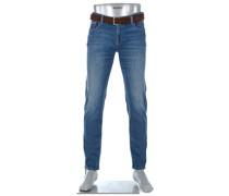 Jeans Slim Slim Fit Baumwoll-Stretch 11oz
