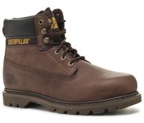 Schuhe Boots Nubukleder haselnuss