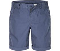Herren Hose Shorts Regular Fit Baumwolle navy