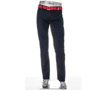 Herren Jeans Modern Fit Baumwoll-StretchT400 indigo