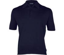 Polo-Shirt, Easy Fit, Sea Island Cotton-Strick