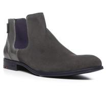 Herren Schuhe DUAL Kalb-Schafleder grau
