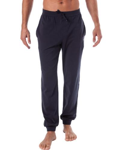 Pyjamahose, Baumwolle, navy