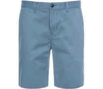 Herren Jeans-Shorts Straight Fit Baumwolle azur