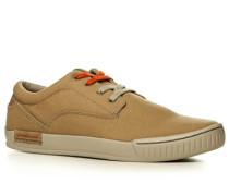 Herren Schuhe Sneaker, Canvas, beige