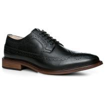 Herren Schuhe Budapester Rindleder schwarz