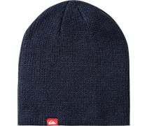 Herren  QUIKSILVER Mütze Material-Mix dunkelblau