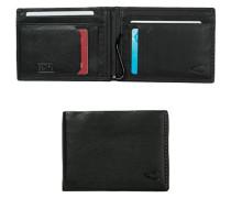 Herren Geldbörse RFID SAFE , Leder, schwarz