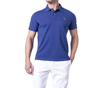 Herren Polo-Shirt Regular Fit Baumwoll-Piqué königs