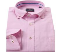 Herren Hemd, Comfort Fit, Oxford, rosa