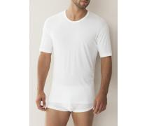 Herren 'Sea Island' Shirt Baumwolle weiß