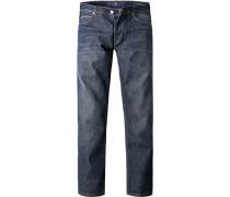Herren Jeans Jake Slim Fit Baumwoll-Stretch denim