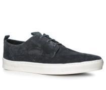 Herren Schuhe Sneaker Leder navy blau