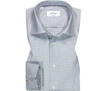 Hemd Contemporary Fit Baumwolle  gemustert