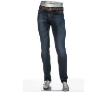 Herren Jeans Slim Fit Superfit Denim indigo