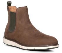 Schuhe Chelsea Boots Nubukleder wasserabweisend