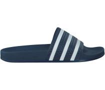 Blaue Adidas Zehentrenner ADILETTE HERREN