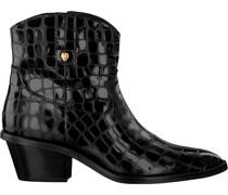 Fabienne Chapot Stiefeletten Holly Zipper Boot Schwarz Damen