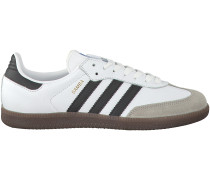 Weiße Adidas Sneaker SAMBA HERREN