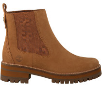 Cognac Timberland Ankle Boots COURMAYEUR VALLEY CH