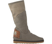 Taupe Karma of Charme Langschaftstiefel LIVE BOSS