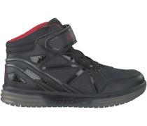 Schwarze Geox Sneaker J5429C