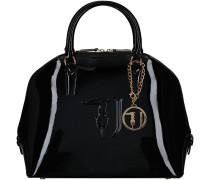 Schwarze Trussardi Jeans Handtasche 75B573