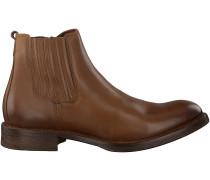 Cognac Omoda Ankle Boots MJAJAO610