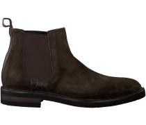 Braune Greve Chelsea Boots CABERNET II