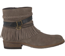 Taupe Clic Kurzstiefel CL8814