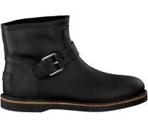 Schwarze Shabbies Ankle Boots 181020086