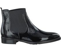 Schwarze Gabor Chelsea Boots 670