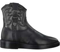 Schwarze Hip Stiefel H1271