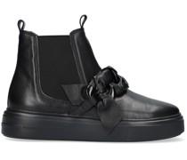 Chelsea Boots 17710 Schwarz Damen