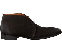 Braune Van Lier Business Schuhe 96051