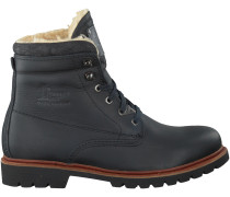 Schwarze Panama Jack Ankle Boots PANAMA 03 AVIATOR
